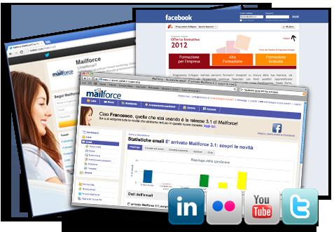Progetti di internet marketing: Posizionamento, Motori di ricerca, Advertising, Payp-per-click, Social Media Marketing, Email marketing