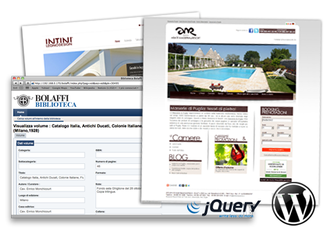 Realizzazione siti web - Bari, Brindisi, Lecce, Taranto, Matera