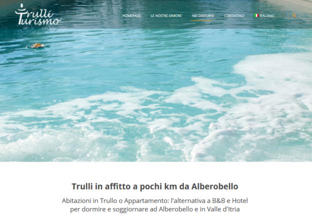 Trulli in affitto e casa per vacanze vicino ad Alberobello